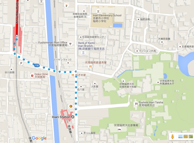 To-Fushimi-Inari-station